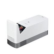 HF85JG [レーザー光源プロジェクター 超短焦点/1,500ルーメン/フルHD/スピーカー3W+3W/スクリーンシェア/webOS3.0対応/マジックリモコン付き]