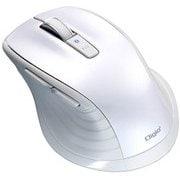 MUS-BKF146W [BlueLED Bluetooth 静音マウス Mサイズ F_line 5ボタン ホワイト]