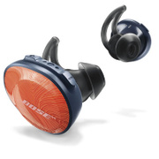 SoundSport Free wireless headphones ブライトオレンジ×ミッドナイトブルー [ワイヤレスヘッドホン 左右独立型 Bluetooth対応]