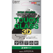 DG-XZ1CG3DS [TOUGH GLASS 3D for Xperia XZ1 Compact 全透明]