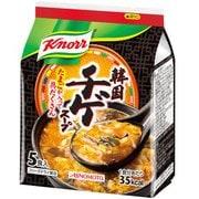 クノール 韓国チゲスープ 5食入り