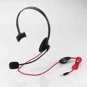 HS-MHW01BK [モンスターハンター:ワールド×エレコム 4極ヘッドセットマイクロフォン 片耳オーバーヘッド 1.0m PS4専用 ブラック]