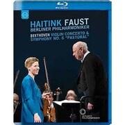 ベートーヴェン: ヴァイオリン協奏曲ニ長調、交響曲第6番ヘ長調「田園」 [Blu-ray Disc]