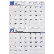 E91 エコカレンダー壁掛 B5サイズ×2面 [2018年カレンダー]