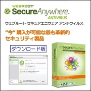 Webroot SecureAnywhere Antivirus 2012 1ユーザー 1年版 [Windows ダウンロード版]