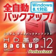 HD革命/BackUp Ver.12s Professional ダウンロード版 [Windowsソフト ダウンロード版]