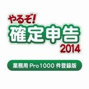 やるぞ!確定申告2014 業務用Pro 1000件登録版 for Windows [ダウンロードソフトウェア Windowsソフト]