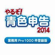 やるぞ!青色申告2014 業務用Pro 1000件登録版 for Windows [ダウンロードソフトウェア Windowsソフト]