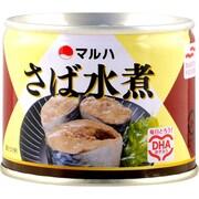 マルハ さば水煮 190g×24 [缶詰]