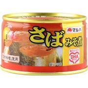 マルハ さば味噌煮 月花 200g(固形150g)×24 [缶詰]