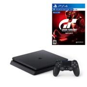 セット購入がお得!「PlayStation 4本体」と「グランツーリスモSPORT」の同時購入で1,080円引き [「プレイステーション4 ジェット・ブラック 500GB」+「PS4ソフト グランツーリスモSPORT」]