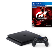 セット購入がお得!「PlayStation 4本体」と「グランツーリスモSPORT」の同時購入で1,080円引き [「プレイステーション4 ジェット・ブラック 1TB」+「PS4ソフト グランツーリスモSPORT」]