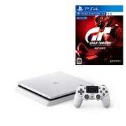 セット購入がお得!「PlayStation 4本体」と「グランツーリスモSPORT」の同時購入で1,080円引き [「プレイステーション4 グレイシャー・ホワイト 1TB」+「PS4ソフト グランツーリスモSPORT」]