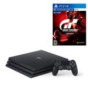 セット購入がお得!「PlayStation 4 Pro本体」と「グランツーリスモSPORT」の同時購入で2,160円引き [「プレイステーション4 Pro ジェット・ブラック 1TB」+「PS4ソフト グランツーリスモSPORT」]