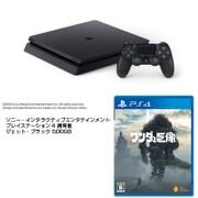 PS4+ワンダと巨像セット [SIE ソニー・インタラクティブエンタテインメント 「プレイステーション4 通常版 ジェット・ブラック 500GB CUH-2100AB01」+「ワンダと巨像 PS4ソフト」]