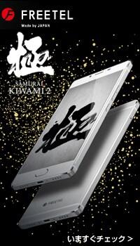 フリーテル SIMフリースマートフォン  極 (きわみ)2