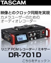 TASCAM タスカム DR-701D