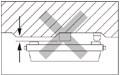 突出部のある天井、凹凸のある天井