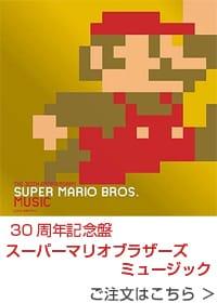 30周年記念盤 スーパーマリオブラザーズミュージック