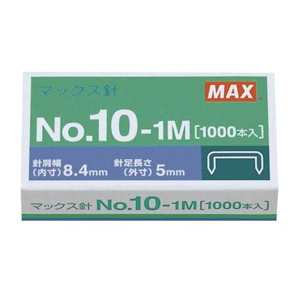 マックス ホッチキス針 1000本 0個 M91187 NO.10-1M0コ