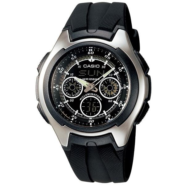 カシオ 腕時計 AQ-163W-1B1JF AQ-163W-1B1JF 1