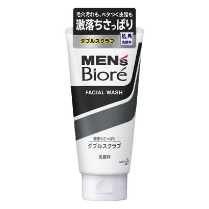 花王 メンズビオレ ダブルスクラブ洗顔 130g [7666]