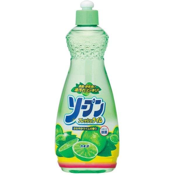 カネヨ石鹸 ソープン フレッシュライム ボトル600ml [0890]