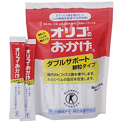 塩水港精糖 オリゴのおかげ ダブルサポート 顆粒 6gX15 パールエース [4987]