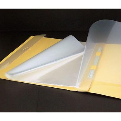 ナカバヤシ フラットポケット 替台紙 A4 型 クリアブック10ポケット(中紙なし) 1冊 FPR-A4-10
