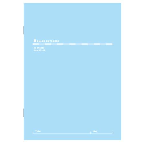 日本ノート スリムノート B5 スカイブルー X01SB 10冊 キョクトウ アピカ