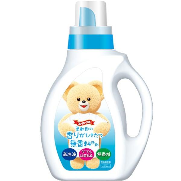 ファーファの液体洗剤・香りひきたつ無香料・1kg