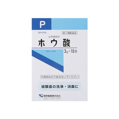 ケンエー ホウ酸P 箱3g×18