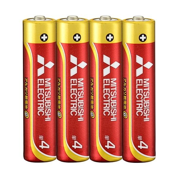 三菱 アルカリ乾電池 GD 単4形 4本パック LR03GD 4S