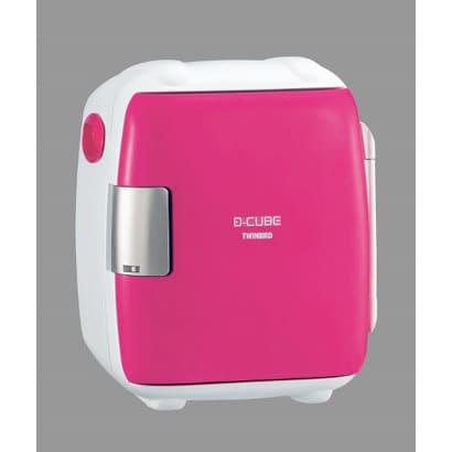 ツインバード工業 ミニ冷温庫 2電源式コンパクト電子保冷保温ボックス 5.5 L D-CUBE S ピンク HR-DB06P 1台