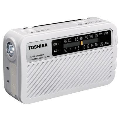 東芝 手回し充電ラジオ TY-JKR5 W 1台