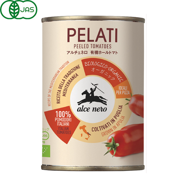 伊産 アルチェネロ オーガニックホールトマト EO缶400g