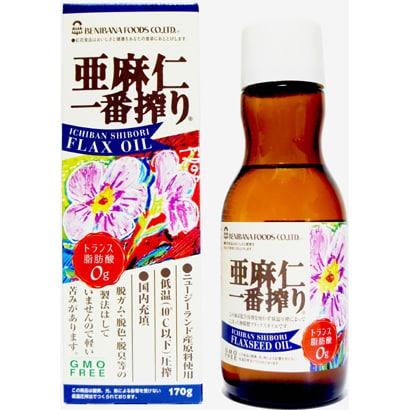 紅花食品の亜麻仁油
