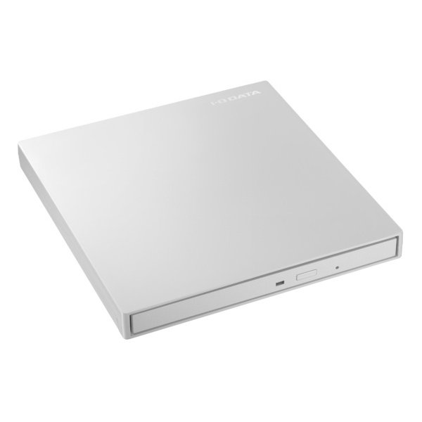 アイオーデータ USB3.1 Gen1 TypeーC対応 バスパワー駆動ポータブルDVDドライブ パールホワイト DVRP-UT8C2W