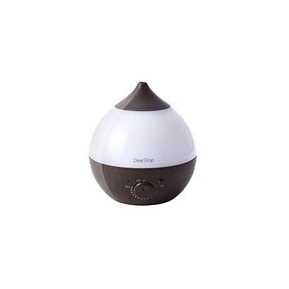 スリーアップ スリーアップ 超音波式加湿器 デュードロップS 木目調 ダークウッド HFT-1715DW タンク容量1L 加湿量200ml アロマ対応 LED