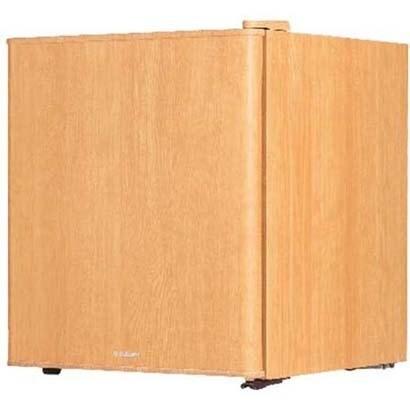 S-cubism 冷蔵庫 1ドア インテリア冷蔵庫 49L ライトウッド [6795]