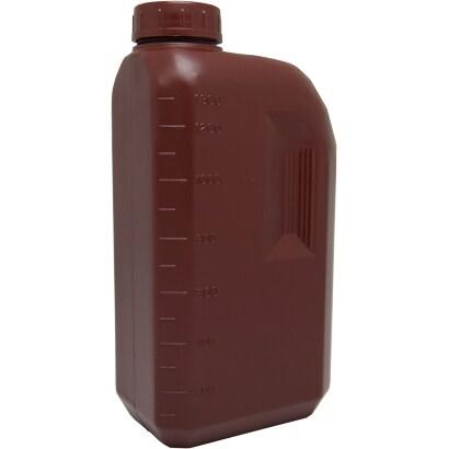 ポリビン 1.3L [1.3リットル 角茶]