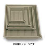 L65611B 印画紙用プラスチックバット [半切 クリーム]