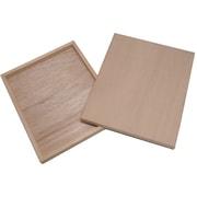木製パネル 四ッ切(写真用) [271×224×約20ミリ]
