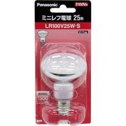 LR100V25WS [白熱電球 ミニレフ電球 E17口金 100V 25W形 50mm径 ホワイト]