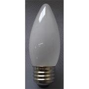C372625F [白熱電球 シャンデリアランプ E26口金 25W 37mm径 フロスト]