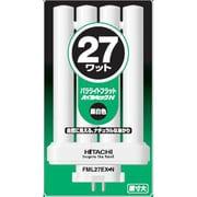 FML27EX-N [コンパクト形蛍光ランプ パラライトフラット GX10q-4口金 ハイルミックN色(3波長形昼白色) 27形]