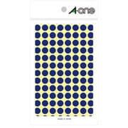 07002 [カラーラベル 青 丸型 9mmφ14シート(1,456片)]