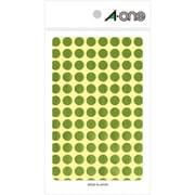 07011 [カラーラベル 金 丸型 9mmφ8シート(832片)]