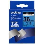 TZ-561 [ラミネートテープ 黒文字、青テープ、36mm]