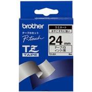 TZ-251 [ラミネートテープ 黒文字、白テープ、24mm]